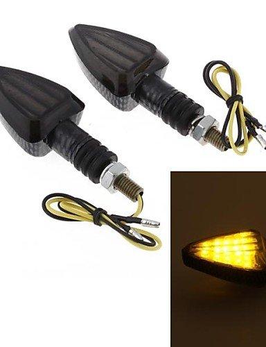 dbrgrr-2pcs-moto-giallo-15-led-girano-lente-fumo-lampadina-lampeggiante-segnale-dc12v-8-millimetri-s
