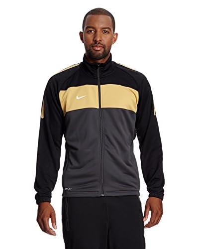 Nike Giacca Training Federation [Nero/Oro]