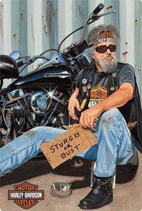 Harley-Davidson Panhandler Tin Sign 2010881