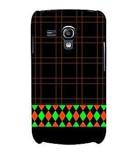 Diamond Design 3D Hard Polycarbonate Designer Back Case Cover for Samsung Galaxy S3 Mini :: Samsung Galaxy S3 Mini i8190