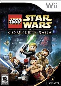 New Lucas Arts Entertainment Lego Star Wars The Complete Saga Action/Adventure Game Wii Platform