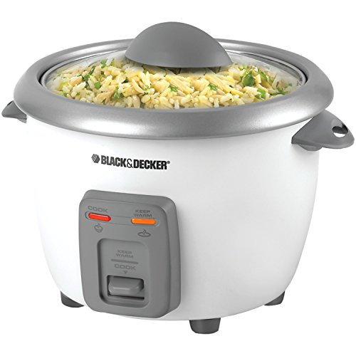 BLACK+DECKER 6 cup Rice Cooker - RC3406-2