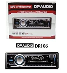 See DP AUDIO DR106 FM and MP3 Stereo Receiver with USB Port and SD Card Slo (NO CD PLAYER) Details