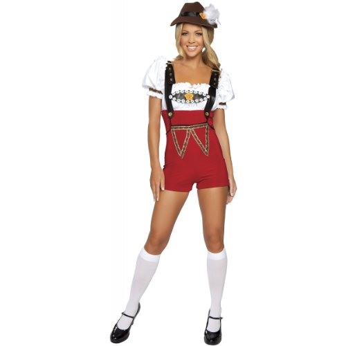 Beer Stein Babe Costume - Small/Medium - Dress Size 2-6