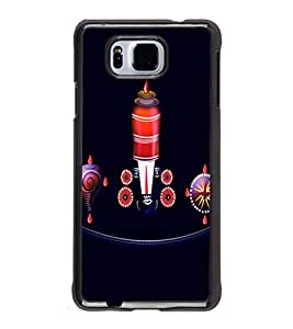 printtech Lord South India Back Case Cover for Samsung Galaxy Alpha G850