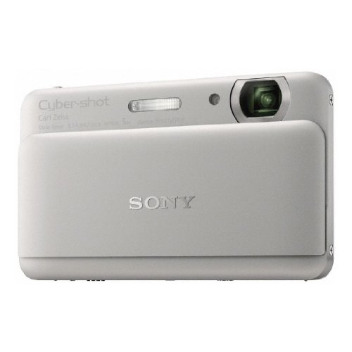 Sony DSC-TX55S Digital Camera - Silver (16.2MP, 5x Optical Zoom) 3.3 inch OLED