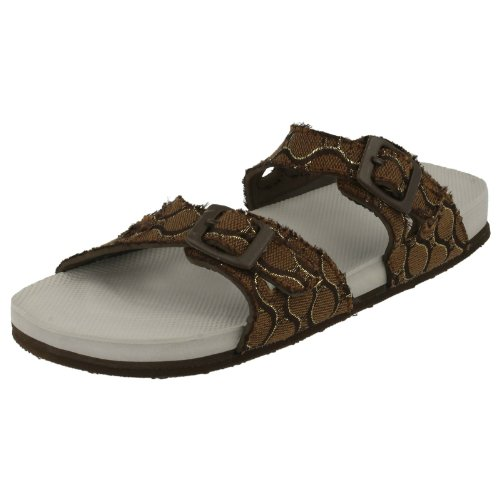 Samoa, Sandali donna, Marrone (marrone), 6 UK