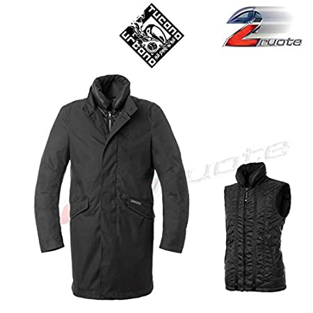 Tucano urbano 8907MF021N4 fICUS-respirant, coupe-vent et étanche coat long padded style-noir/fuchsia-taille m