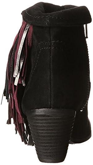 Sam Edelman Women's Louie Boot, Black Suede, 8 M US