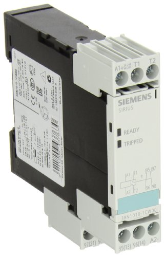 Siemens 3Rn1010-1Cw 00 Thermistor Motor Protection Relay, Screw Terminal, Standard Evaluation Units, 2 Leds, 22.5Mm Width, Auto Reset, 1 No + 1 Nc Contacts, 24-240Vac/Vdc Control Supply Voltage