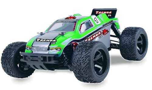 Redcat Racing Tremor Sg Electric Truggy, Green, 1/16 Scale
