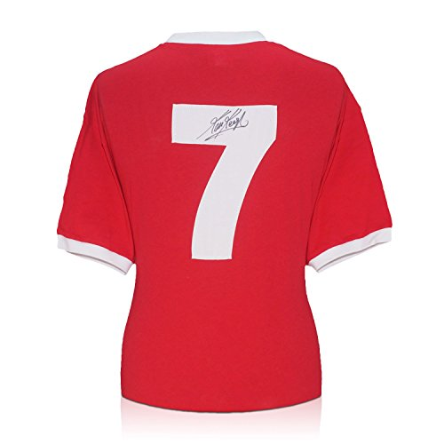Kevin Keegan Signed Liverpool 1973 Number Seven Jersey front-683909
