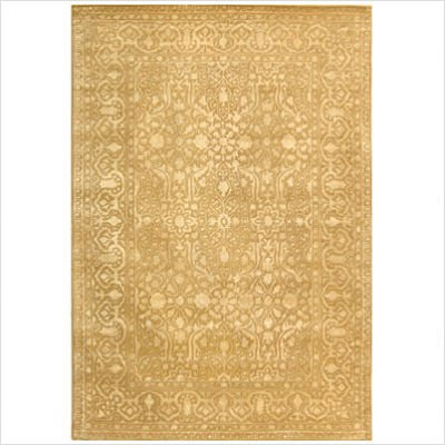 Silk Road SKR213C Ivory Oriental Rug Size: 5' x 8' Rectangle