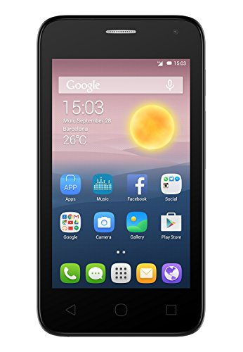 Alcatel One Touch Pixi First Smartphone, Dual SIM, Soft Slate [Italia]