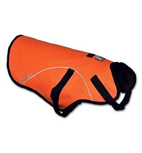 Discover Bargain Ruffwear Track Jacket Safety Vest for Dogs, Blaze Orange, Large