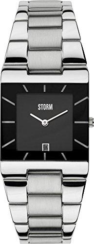 STORM 47194/BK - Orologio da polso, donna, acciaio inox, colore: argento