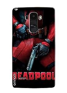 Omnam Deadpool Hero Printed Designer Back Case For LG G4 Stylus