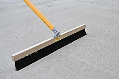 "Gator Tool Concrete Broom Medium .015"" Poly 48"" (w/Automatic Swivel Bracket)"