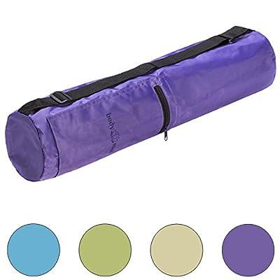 Body & Mind Yogatasche - Premium Yoga-Bag für Yogamatten bis 190x65cm; Yoga-Tasche in 4 Farben