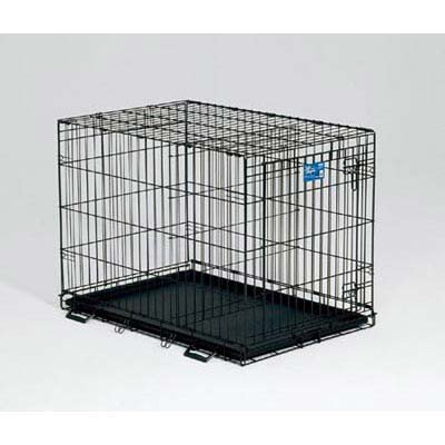 MidWest Life Stages Folding Single Door Dog Crate
