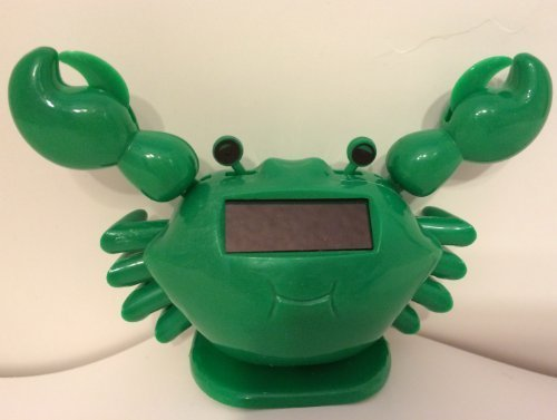 Solar Toy 1 ~ Cute ~ Big mouth Green Crab / Beach Tropical