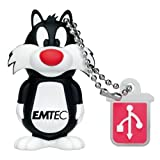 Emtec Electronics L101 Looney Tunes 4 GB USB 2.0 Flash Drive (Sylvester the Cat) - EKMMD4GL101by Emtec