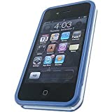 AGF Beetle Case for iPhone 4, Blue/White