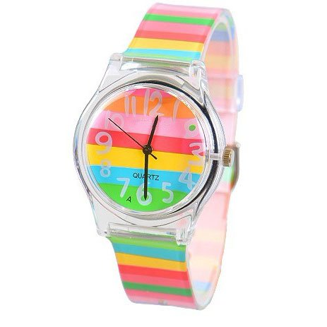 Zeiger New Cool Kids' KW019 Analog Lovely Time Teacher ...