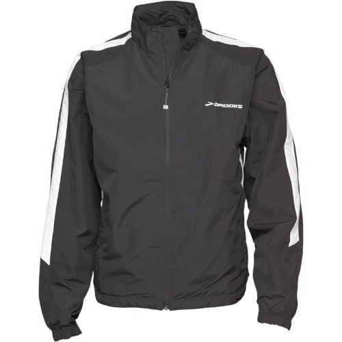 Brooks Mens Team Podium Europe Running Jacket Black