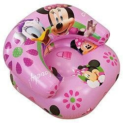 Girls Kids Disney Minnie Mouse Inflatable Chair (See Description) (Pink)