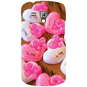 Samsung Galaxy S Duos 7582 Back Cover - Love Hearts Desiner Cases
