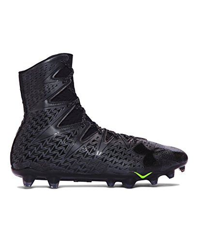 Under Armour Men`s UA Highlight MC Lacrosse Cleats 8.5 Black