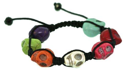 Adjustable Bone Skull Bracelet