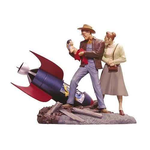 Buy Low Price DC Direct Superman: Arrival in Smallville Mini Statue Figure (B000GPZ068)