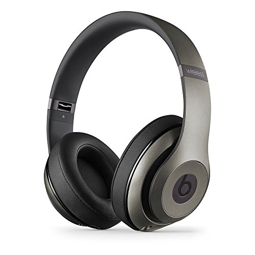Beats Studio Wireless Over-Ear Headphone (Titanium) (Wholesale Beats)