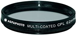 Agfa 62mm Digital Multi-Coated Circular Polarizing (CPL) Filter