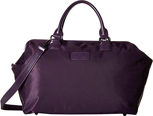 lipault-paris-womens-bowling-bag-m-purple-duffel-bag