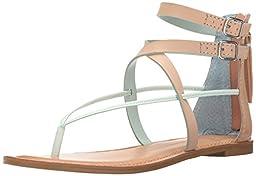 Dolce Vita Women\'s Darrah Gladiator Sandal, Mint, 8.5 M US