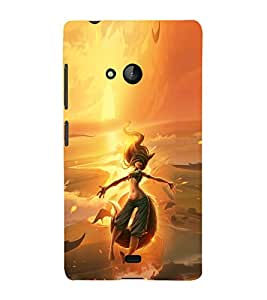 iFasho Girl in water animated Back Case Cover for Nokia Lumia 540