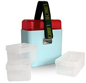 OOTS Deluxe Lunchbox with Containers, Blue