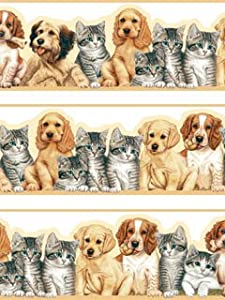 Pets Shaped Border 5m x 150mm from HA Interiors