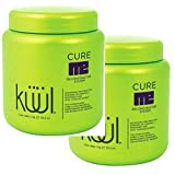 2 Packs Kuul Cure Me Reconstructor System TREATMENT For Damaged Hair With Avocado 35.2 oz Each