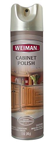 Weiman Cabinet Polish Aerosol 12 Oz 041598140174