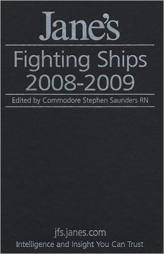 Jane's Fighting Ships 2008-2009 written by Stephen Saunders