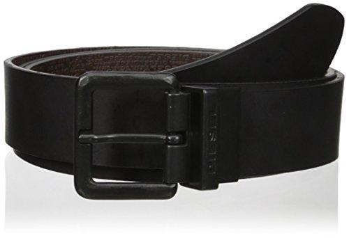 Cintura in pelle reversibile Diesel B-Twin X03968 nero/moro