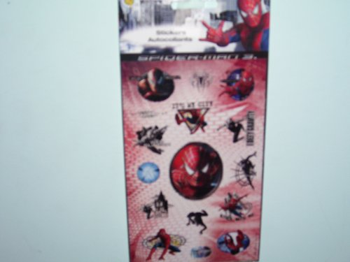 Spider-Man 3 (2 sheets of stickers in a pack) - Buy Spider-Man 3 (2 sheets of stickers in a pack) - Purchase Spider-Man 3 (2 sheets of stickers in a pack) (Sandylion, Toys & Games,Categories,Arts & Crafts,Stamps & Stickers)