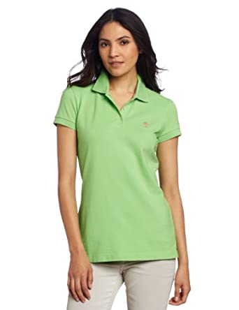 Lilly Pulitzer Women's Island Polo, New Green, X-Small