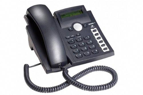 Snom 300 noir Téléphone VoIP 4 Comptes SIP 6 touches prog.
