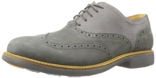 Cole Haan Men's Great Jones Wingtip Dark Gull Grey Oxford 12 D - Medium (Cole Haans New Men compare prices)