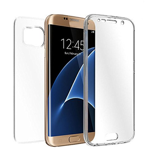 Galaxy S7 Edge Cover TOOPOOT Clear Soft TPU Full Body Protective Case For Samsung Galaxy S7 Edge